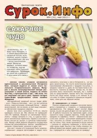 Газета СУРОК.ИНФО №4 (31), 2012 г., стр. 1